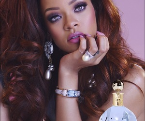 navy, robyn fenty, and photo shoot image