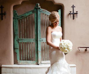 wedding dress, wedding dresses, and mermaid wedding dress image