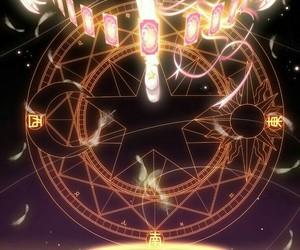 sakura, anime, and sakura kinomoto image