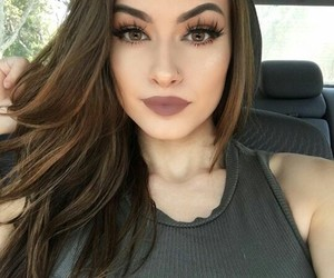 girl, glam, and pretty image