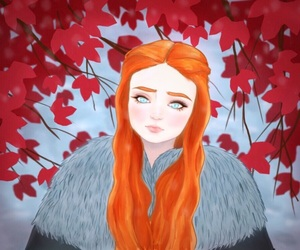anime, beautiful woman, and dark fantasy image