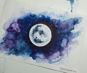 blue, pretty, and purple image