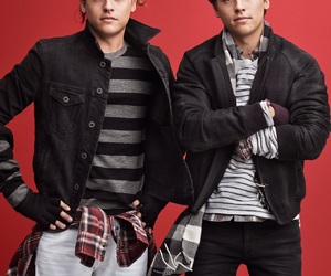 cole sprouse and dylan sprouse image