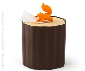 squirrel, woodland creature, and Toilet paper holder image
