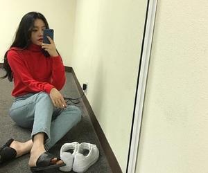 fashion, korean, and sitemodel image