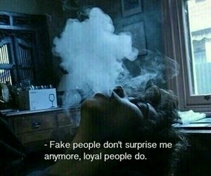 smoke, quotes, and fake image
