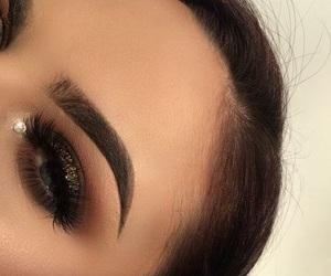 beautiful, eyelashes, and jewel image