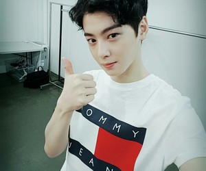 asian, handsome, and eunwoo image