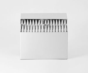 crayons, white, and drawing image