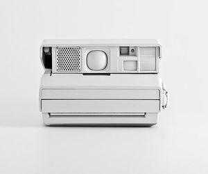 polaroid, white, and camera image