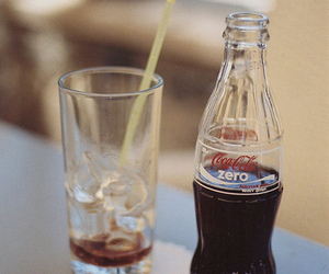 coke, coca cola, and vintage image