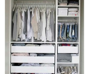 closet, clothes, and organizar image