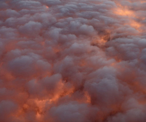 clouds, sky, and light image