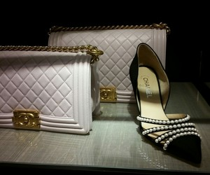 bag, chanel, and shoes image