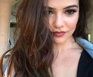 danielle campbell and brunette image