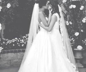 lesbian, love, and wedding image