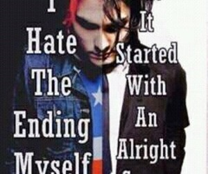 gerard way, Lyrics, and mcr image