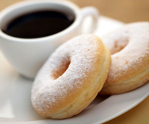 donuts, coffee, and breakfast image