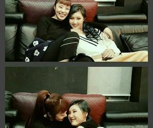 mamamoo, wheein, and hwasa image
