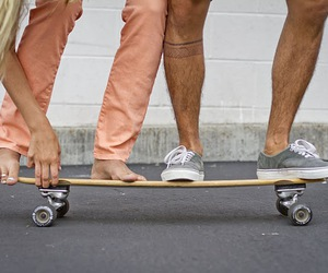 skate, boy, and couple image