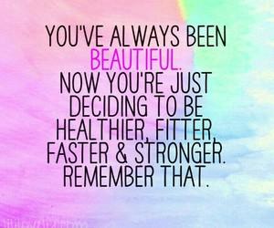 beautiful, fitness, and motivation image