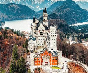 castle, medieval, and Neuschwanstein Castle image