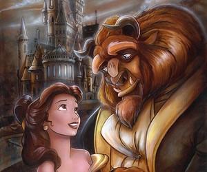 lua, princess, and a bela e a fera image