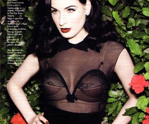 Dita von Teese and sexy image