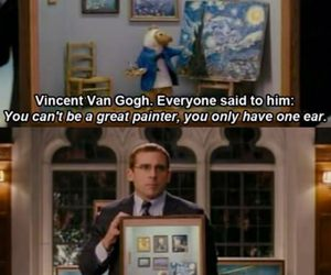 funny, quote, and van gogh image