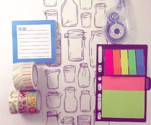 school and washi tape image