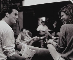 friends, Jennifer Aniston, and Matthew Perry image