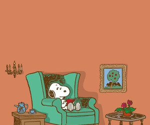 beagle, dog, and snoopy image