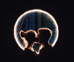 boyfriend, couple, and moon+ image