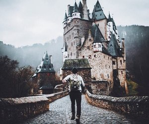 nature, travel, and castle image