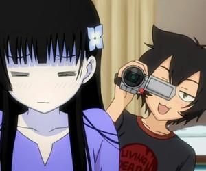 anime, sankarea, and kawaii image