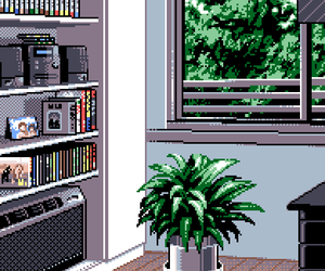 pixel and pixel art image