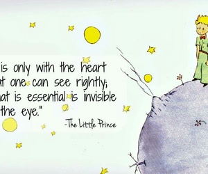 the little prince and quote image