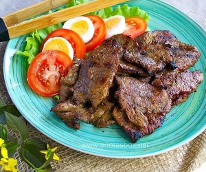 delicious, sweet, and beef image