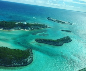 bahamas, beach, and Island image