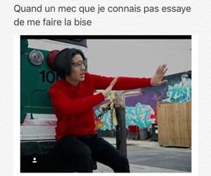 bonjour, drole, and femme image