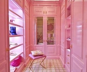 closet and pink image
