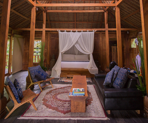 bali, blogger, and bungalow image