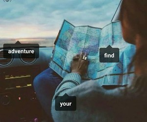 adventure, inspired, and adventures image