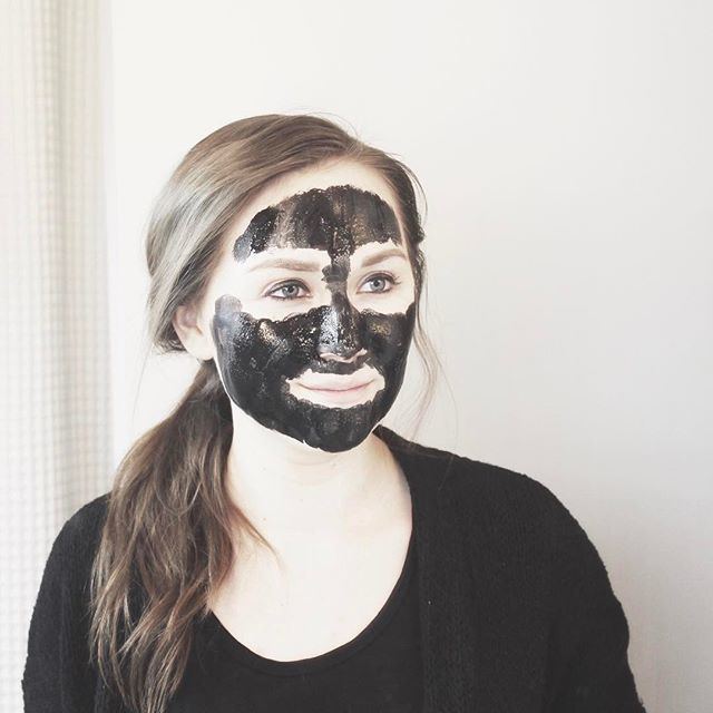aesthetic, black and white, and mask image