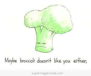 broccoli, funny, and like image