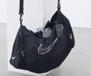 nike, black, and bag image