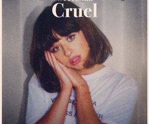 cruel, girl, and vintage image