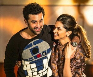 bollywood, deepika padukone, and ranbir kapoor image