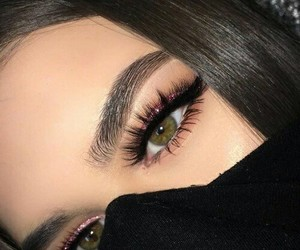 eyebrow, coolgirl, and eyes image