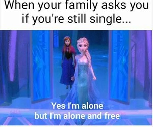 frozen, single, and free image